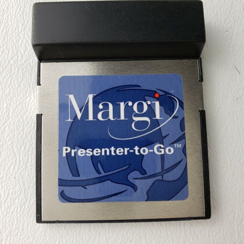 Margi Presenter-to-Go  Type I CompactFlash Card Model 23001 - Unit is Untested