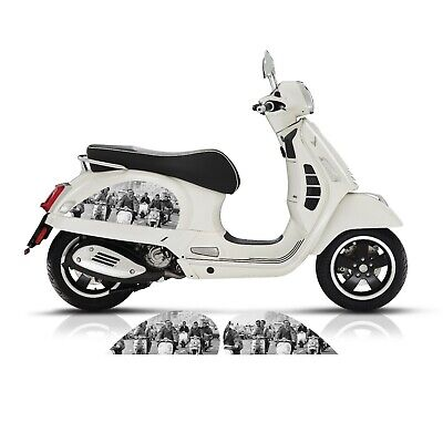 VESPA GT GTS 125 200 250 300 SIDE PANEL MODS AND ROCKERS STICKERS DECALS