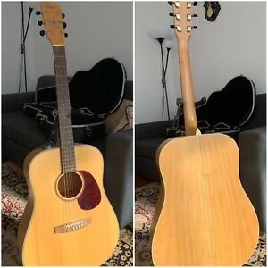 Acoustic Guitar Cort Earth 100 including hard case taking offers