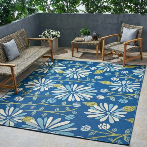 Louise Outdoor Floral Area Rug Area Rugs