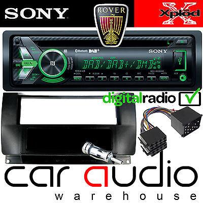 ROVER 75 Sony DAB Bluetooth CD MP3 USB Car Stereo & Single Din Fascia Pocket Kit Din Pocket Kit