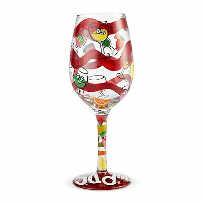 Lolita Sangria, Too - 15 oz Wine Glass 6004368 New 2019 Summer Decorative Glasse ()