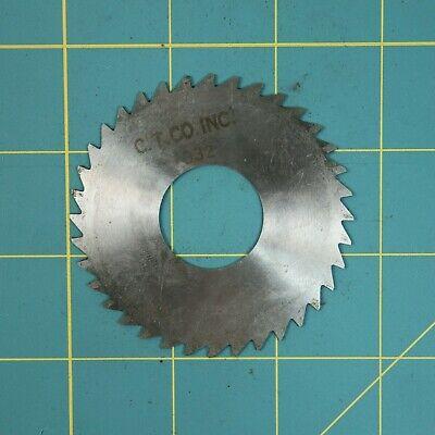 1one Slitting Slotting Saw Blade 0.032 X 2-34 Hss Machinist Cutting Tooll