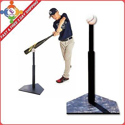 T Ball Set (T Ball Baseball Tee Batting Youth Trainer Bat Set Hitting Kid Adjustable)