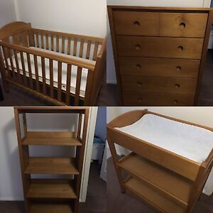 4 piece kids baby toddler bedroom furniture Glenmore Park Penrith Area Preview