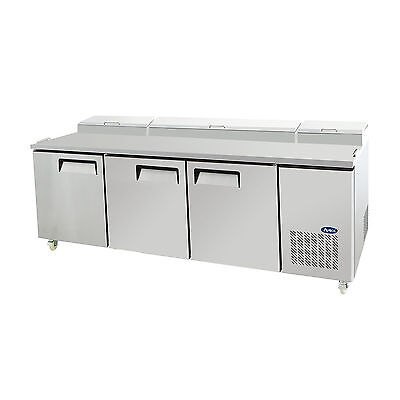 New Atosa 93 3 Door Pizza Prep Table Mpf8203