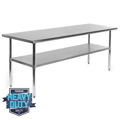 Open Box - Stainless Steel Commercial Kitchen Work Food Prep Table - 30 X 72