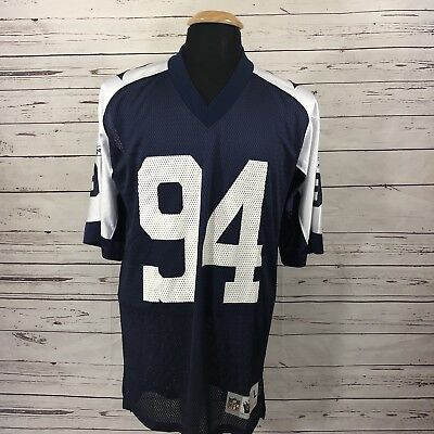 Reebok DeMarcus Ware Dallas Cowboys Thanksgiving Gridiron Throwback Jersey Men L for sale  Shipping to Canada