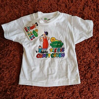 The Big Comfy Couch Tshirt Kid's 4T Vtg Deadstock 1996 NWT Rare Molly Loonette