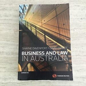 CLAW1001 Business and Law in Australia Burwood Burwood Area Preview