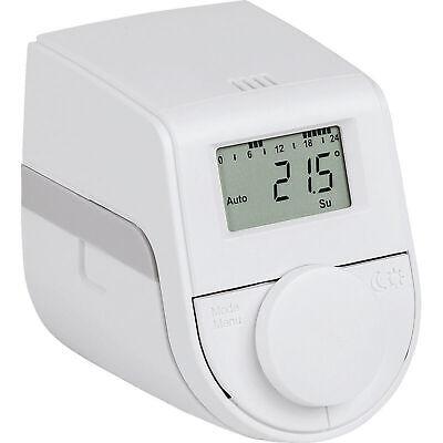 Eqiva Model Q Elektronischer Heizkörperthermostat mit Click-on-Adapter