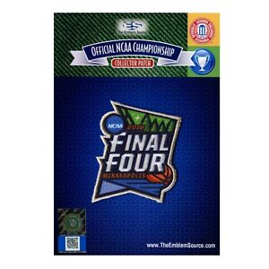 2019 Minneapolis NCAA Men's Basketball Final Four Embroidered College Patch