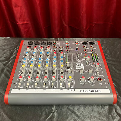 Allen & Heath ZED-10FX Compact Mixer with Effects - Factory Re-Certified