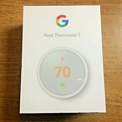 Google Nest ThermostatE - White (Brand New Sealed)