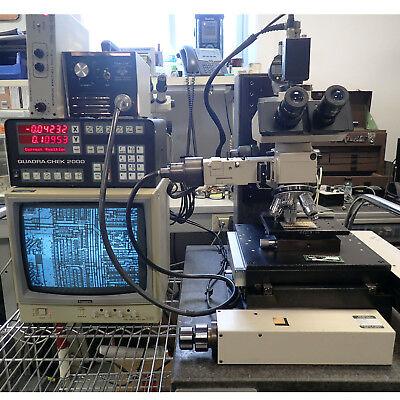 Olympus Bh2-uma Precision Semiconductor Measuring Microscope Metrology Inspector