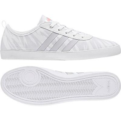 sneakers for cheap 6ce31 d563c Adidas Neo Women Shoes Cloudfoam QT Vulc 2.0 Casual Fashion White DB1799 UK  5