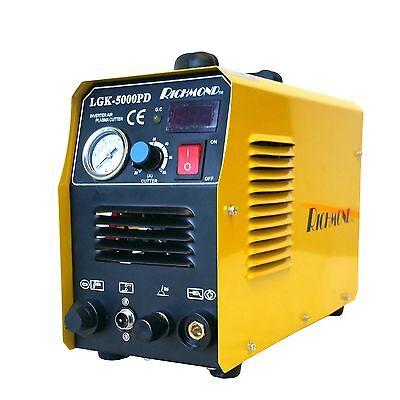 Pilot Arc Lgk-5000pd Air Inverter Plasma Cutter 110v 220v 50a 18 Bonus Tips