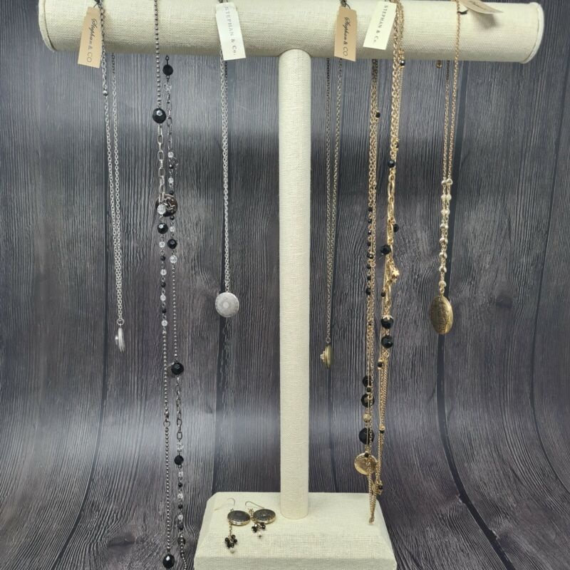 Wholesale Lot of 6 locket charms Necklaces Stephan & Co SAMPLES Vintage