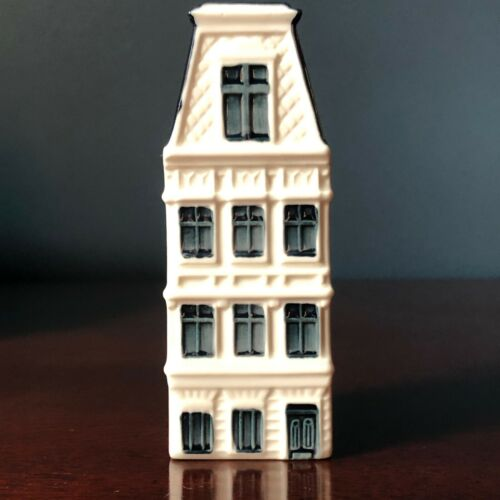 KLM BOLS House #61 Blue Delft Ceramic | 2009 Issue ~ Evaporated/Empty
