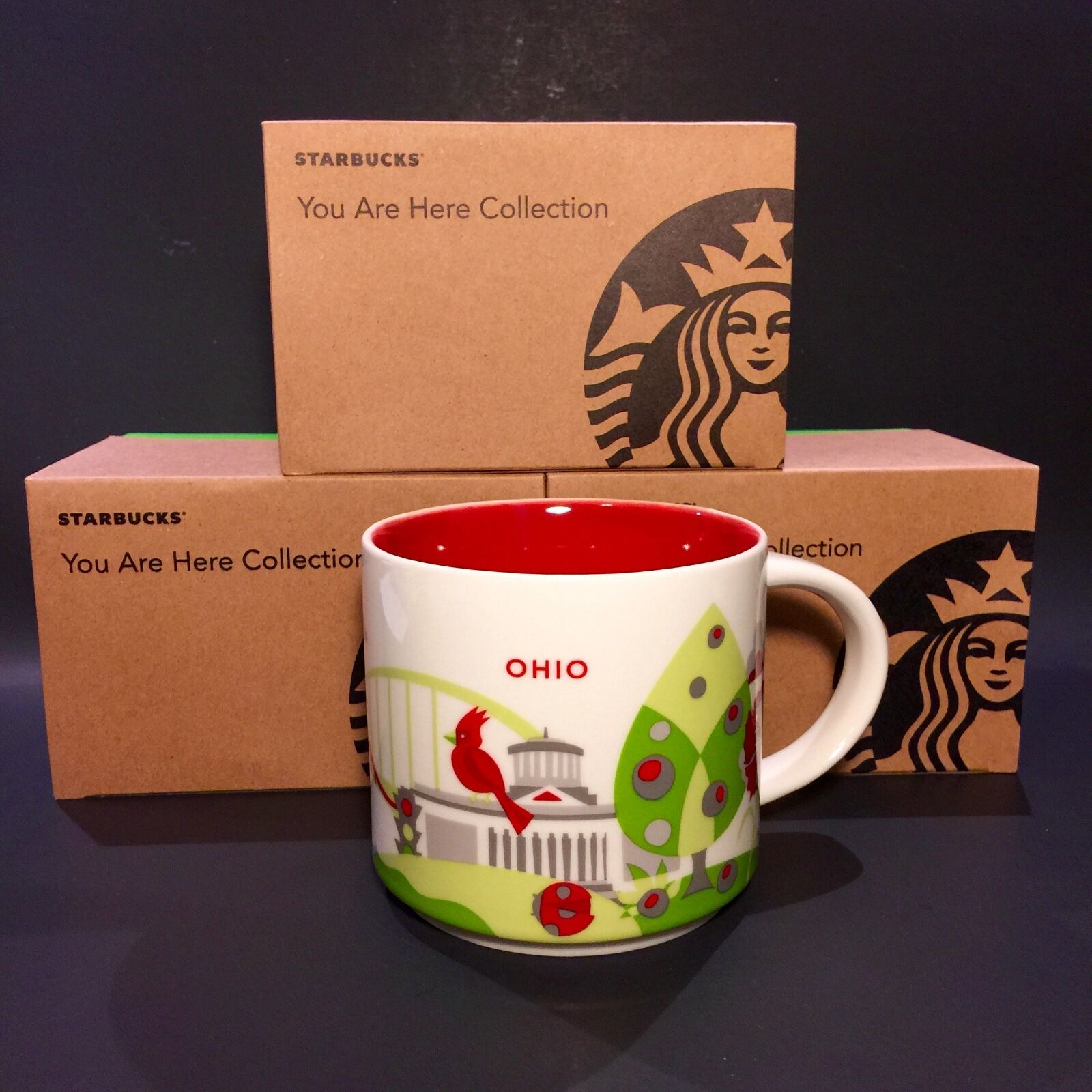 Starbucks YOU ARE HERE ~YAH~ RETIRED - City Mug - YOU PICK Multiple - NIB w/ Tag