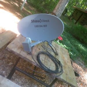 Shaw Direct dish