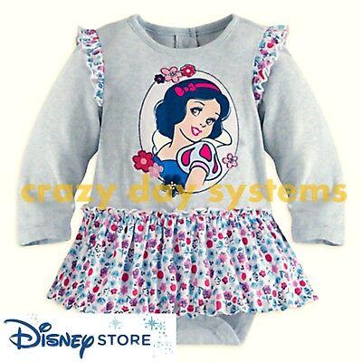 Disney Store Snow White Bodysuit Baby  9/12, 12/18, 18/24 Months](Disney Baby Snow White)