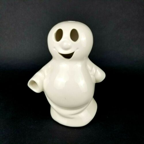 Vintage McCoy Pottery White Halloween Ghost