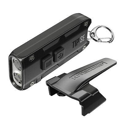 Nitecore Tip SE 700 Lumen Rechargeable Keychain EDC Flashlight Black