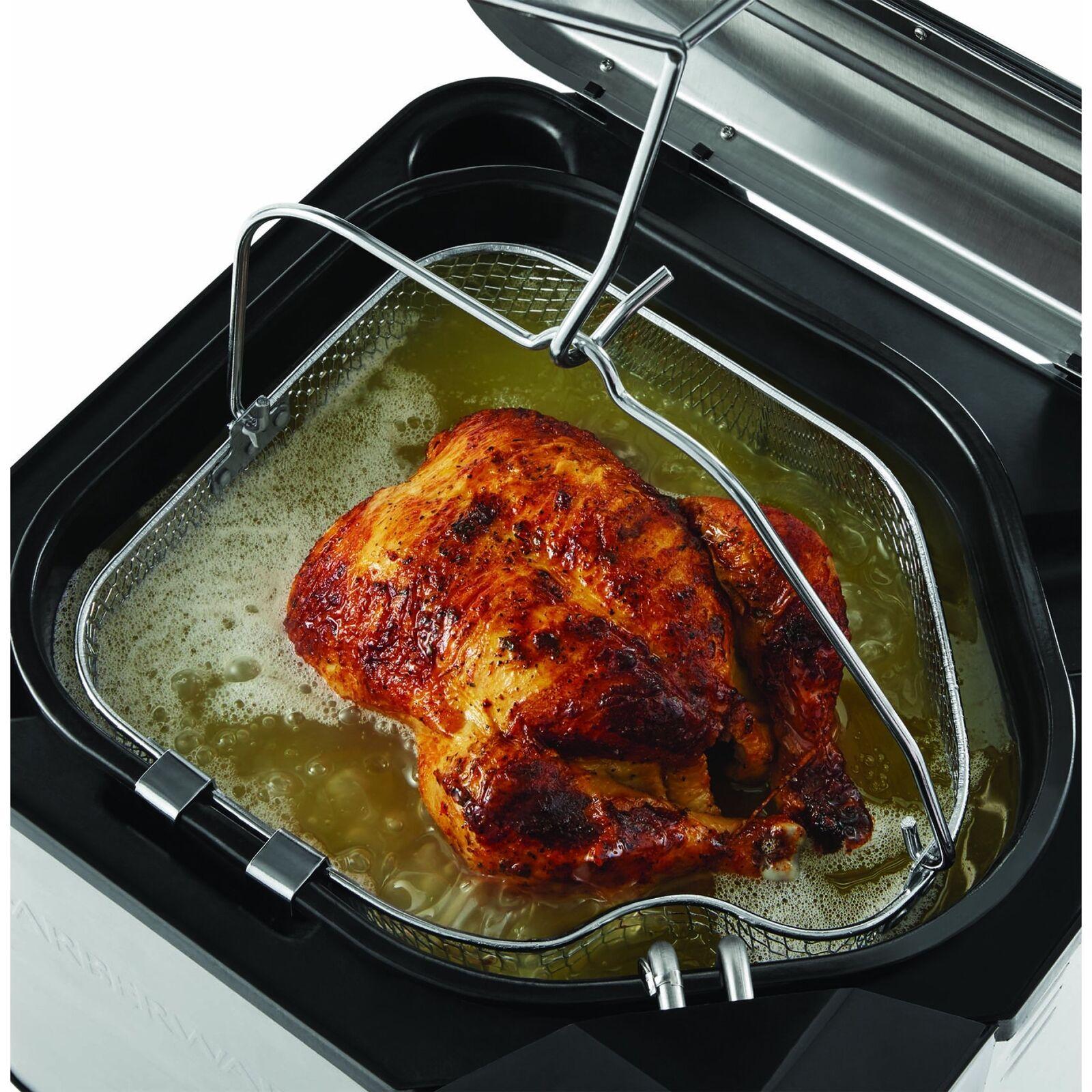 Butterball Turkey Fryer Pot Electric Fish Fry Deep Fryer Oil