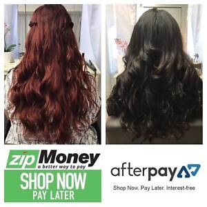 HAIR EXTENSIONS - AFTERPAY & ZIPPAY