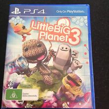 Ps4 game little big planet 3 Secret Harbour Rockingham Area Preview