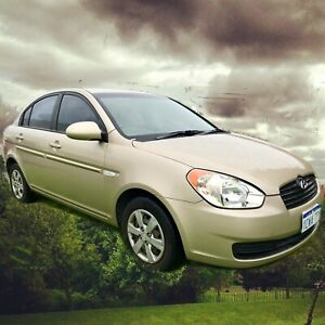 2008 Hyundai Accent  Automatic Low 82,300 kms - Full Log Book History O'Connor Fremantle Area Preview
