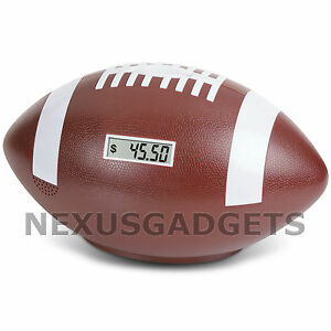 Coin-Counter-Football-Sports-Counting-Digital-Money-Piggy-Bank-w-Cheering-Sound