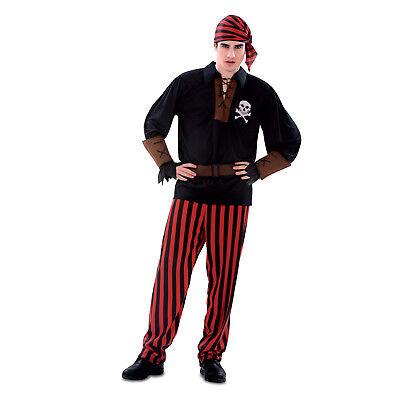 Adult Mens Pirate Swashbuckler Buccaneer Halloween Costume - Male Pirate Halloween Costumes