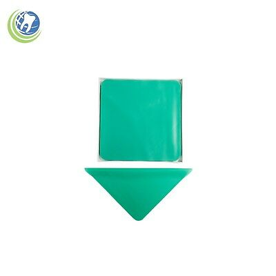 Endodontic Endo Rubber Dam Natural Latex Medium Gauge 5 X 5 Green - 52box