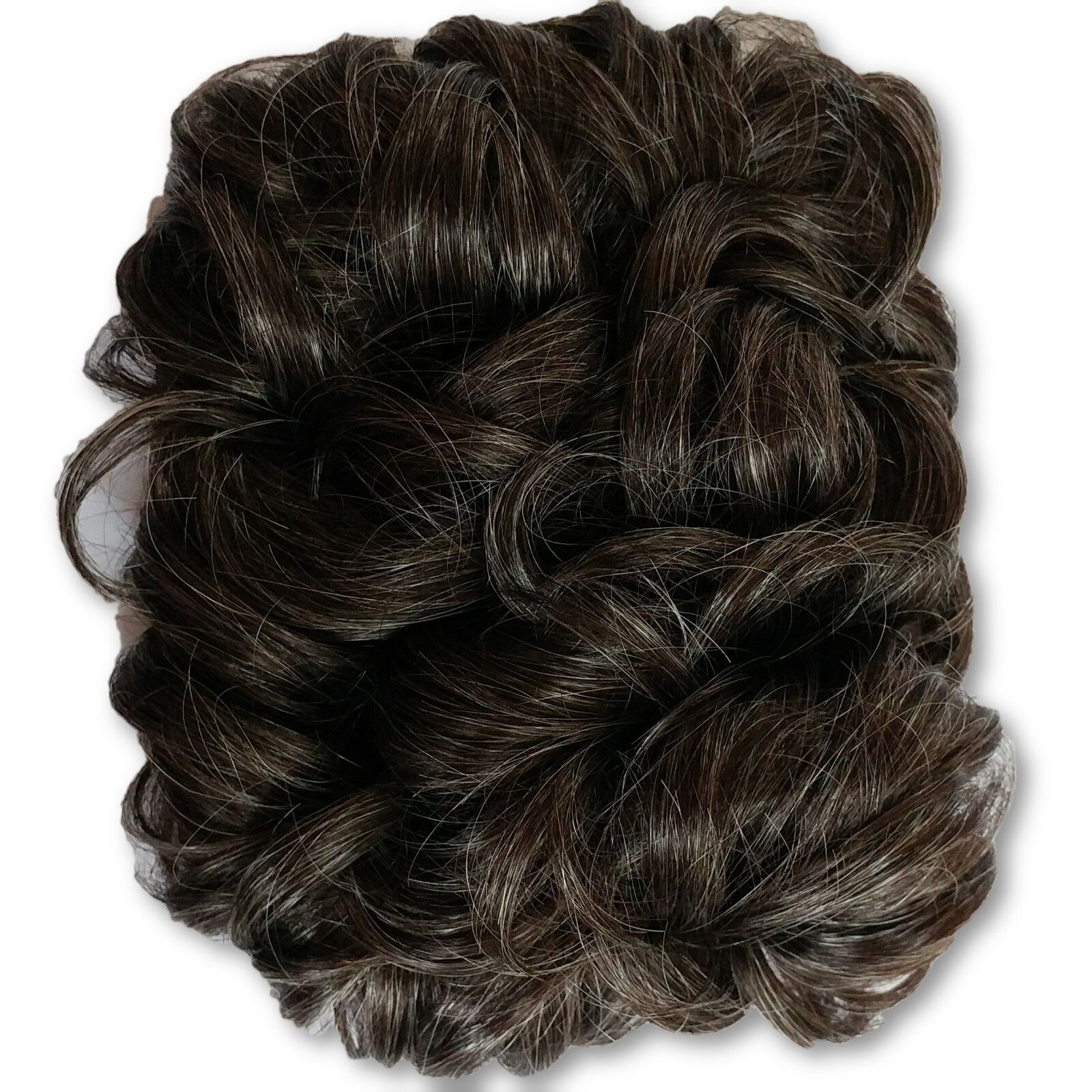 Curly Wiglet Topper Hair Piece For Thinning Crown Top Piece Pull