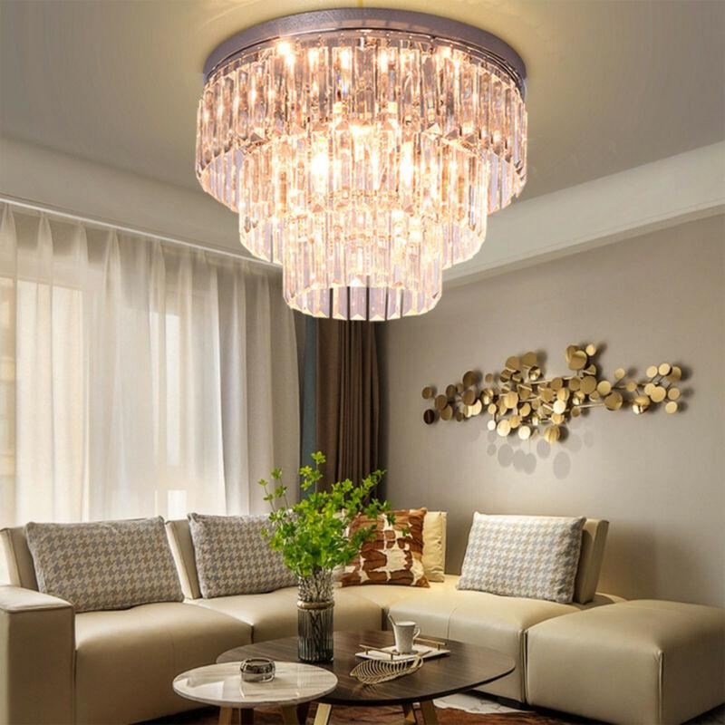Chandelier Ceiling Pendant Light Modern Elegant Crystal Lamp