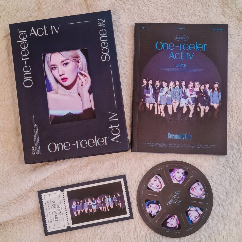 IZ*ONE One-reeler 4th Album Scene #2 (Kwon Eunbi cover)
