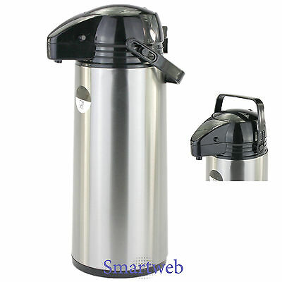 2,2 Liter Pumpkanne Thermoskanne Isolierkanne Kaffeespender Iso Kanne Kaffee