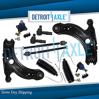 1999-2005 Volkswagen VW Jetta Front Lower Control Arm Ball Joint Tierod Boot Kit