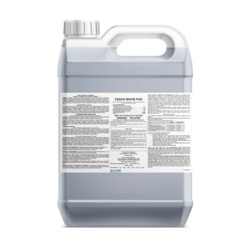 Cesco White Fog Disinfectant Concentrate - Makes 53 Gallons - EPA Registered