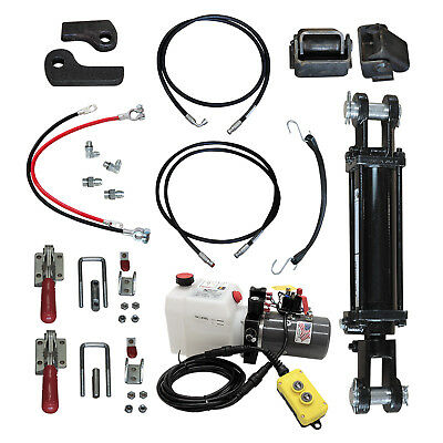 Hydraulic Tilt Deck Kit 310 W For Trailers With Welded Cylinder