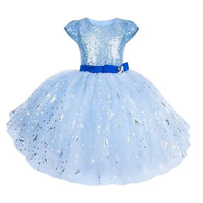 Disney Tutu Couture Party Dress Up Costume Girls Sparkle Glass Slipper Size 5](Dress Up Glass Slippers)