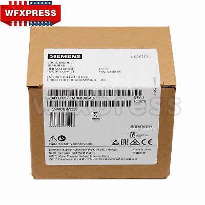 Siemens 6ed1052-1md08-0ba0 Logo 1224rcplc 1224v Dcrelay 8 Di 4ai4 Do