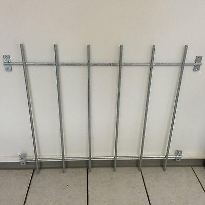 1 Schutzgitter Sicherheitsgitter Fenstergitter Einbruchschutz verzinkt