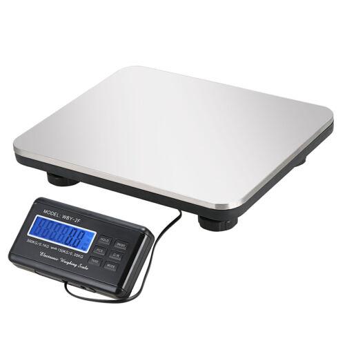 660LBS LCD Postal AC Platform Digital Scale Shipping Floor Bench 300KG Weigh