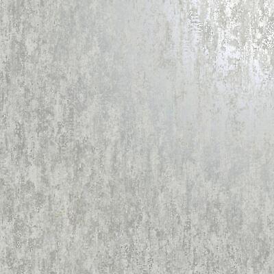 Industrial Texture Wallpaper Metallic Grey / Silver Holden 12840
