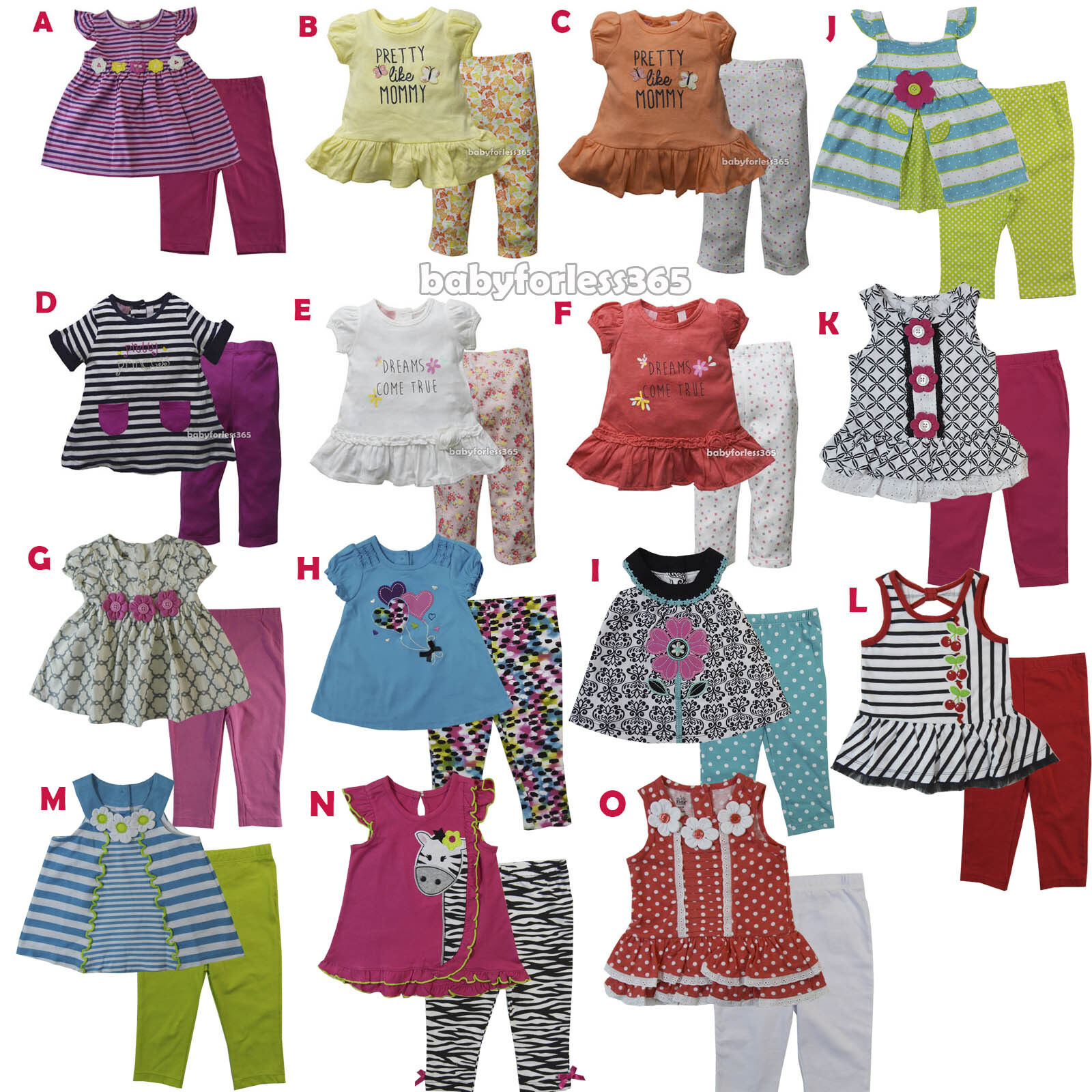 NWT Baby Girls Dress w Diaperwear Headband Outfit size 0 3 6 9 12 18 24 months