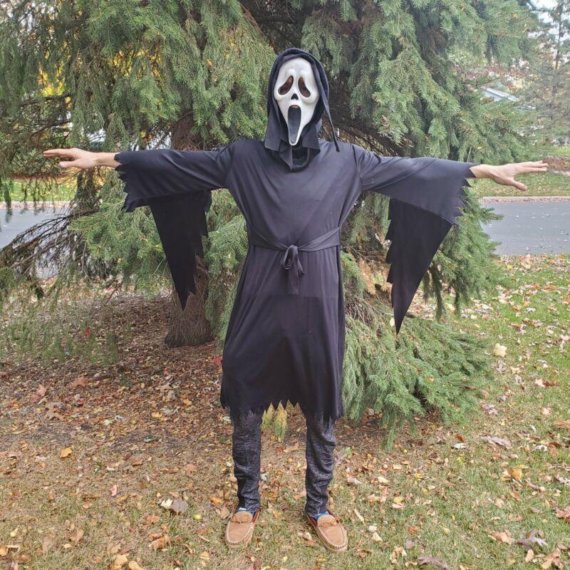 VTG Scream Movie Easter Unlimited Fun World FULL COSTUME Halloween Ghostface