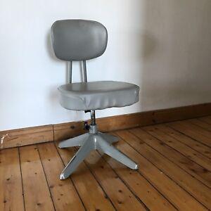 Chaise de bureau industrielle mid century desk chair